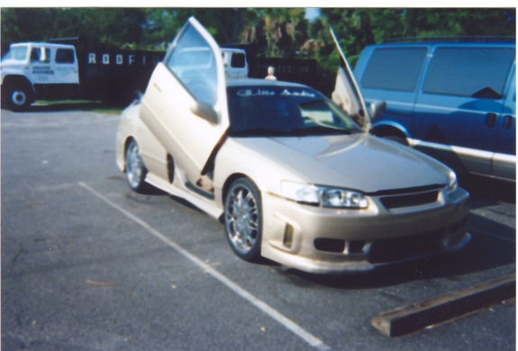 98-01 Camry Bolt-on Lambo Door Kit