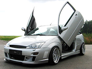 00-04 Focus Bolt-on Lambo Door Kit