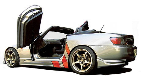 Gull Wing Vertical Door Kit