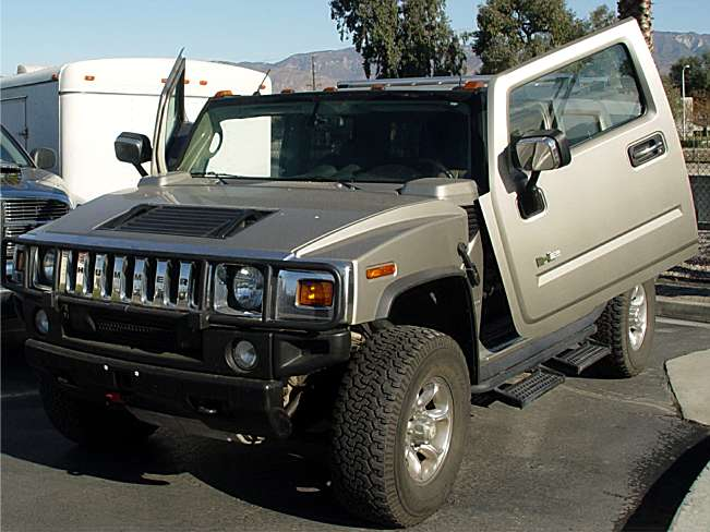 03-Up Hummer H2 SUV/SUT Bolt-on Lambo Door Kit