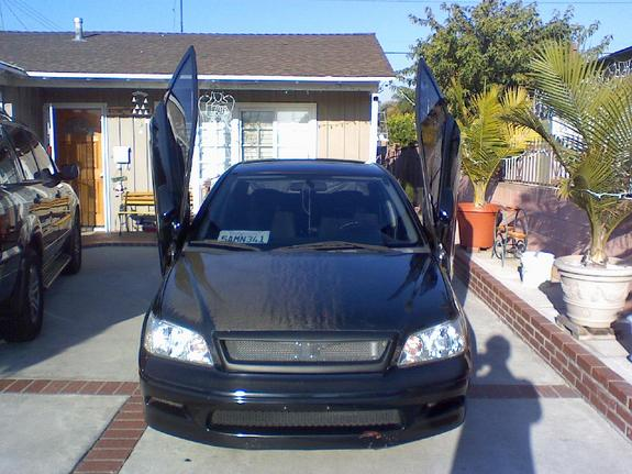 00-UP Lancer Bolt-on Lambo Door Kit