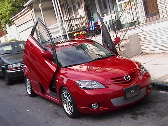 03-UP Mazda 3 Bolt-on Lambo Door Kit