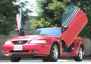 99 04 Mustang Bolt On Lambo Door Kit Car Lambo Doors