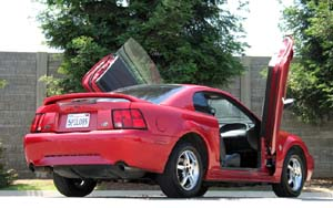 99-04 Mustang Bolt-on Lambo Door Kit