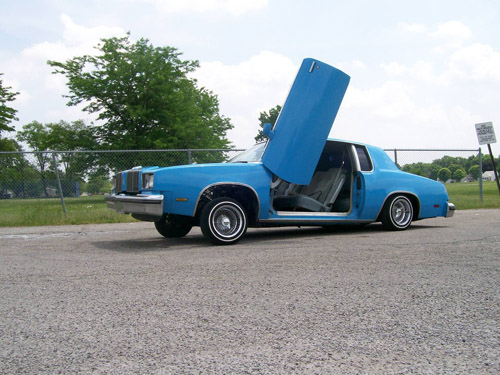 78-88 Oldsmobile Cutlass (G-body) Bolt-on Lambo Doors