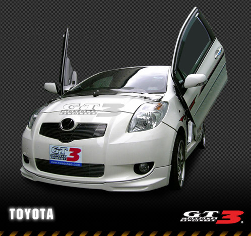 05-08 Yaris Bolt-on Lambo Door Kit